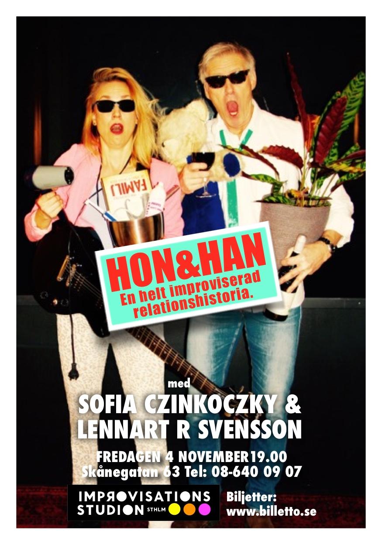 Lennart R Svensson i HON & HAN