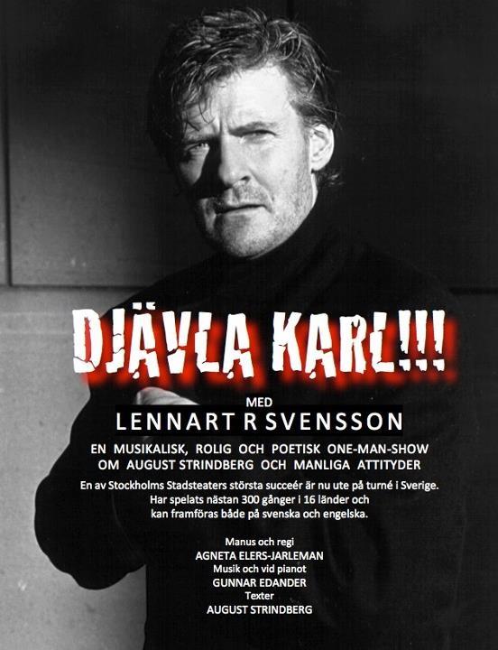Lennart R Svensson i Djävla Karl