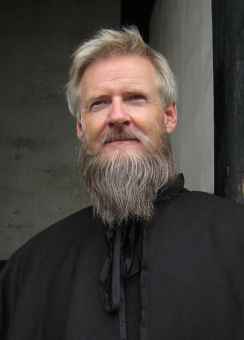 Lennart R Svensson som prästen Ma Sheng Fu i TV-serien Memories in China 2008